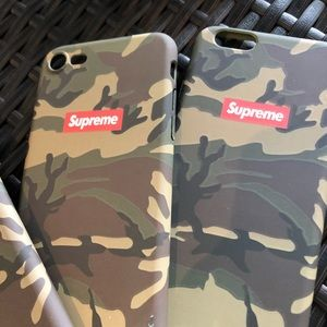 Supreme Camo IPhone cases 🔥🔥🔥